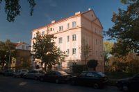Oprava fasády bytového domu U Klavírky 5 v Praze - Smíchově